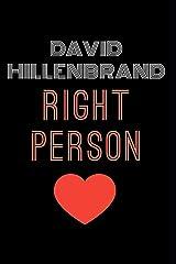Right Person Paperback