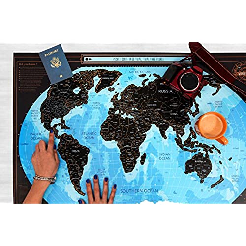New scratch off world map black poster with us states complete new scratch off world map black poster with us states complete accessories set premium gumiabroncs Image collections