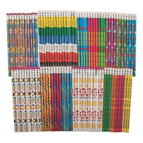 Religious Pencil Assortment (100pc)