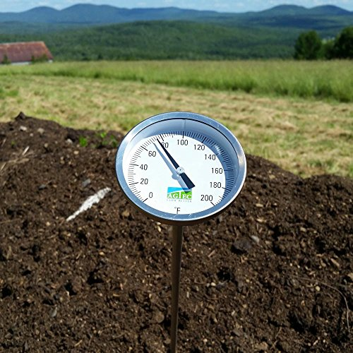 Agtec Heavy Duty Fast Response Compost Thermometer 72in (0-200°F) by Agtec