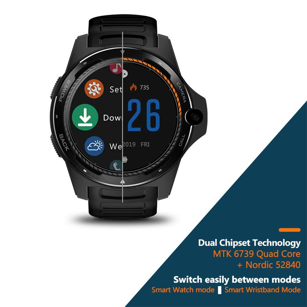 HZYWL Rastreador de Ejercicios Thor 5 Smartwatch GPS 4G LTE Bandas ...