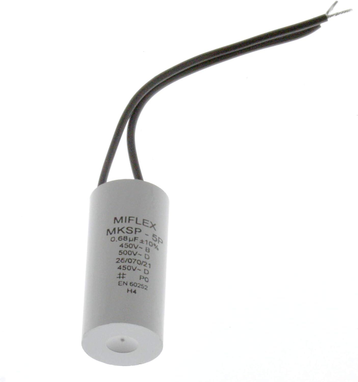 condensateur 4uF 450V connexion plate