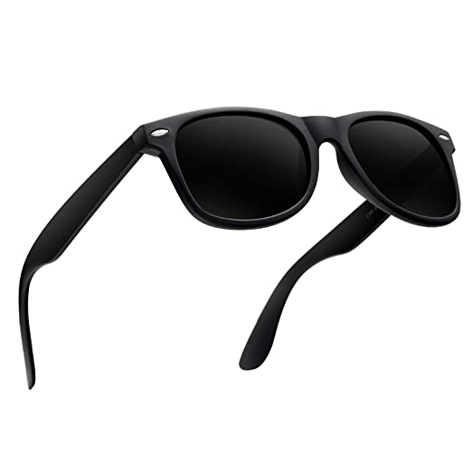 eb7a8ff972c Image Unavailable. Image not available for. Color  Mens Sunglasses for Men  Retro Vintage Polarized ...
