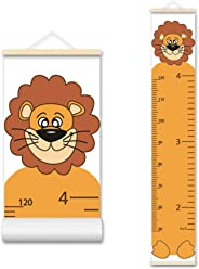 ASENART Height Growth Chart for Kids and Babies Portable Foldable Writable Waterproof Hanging Wall Ruler Growth Chart for Kids Toddlers