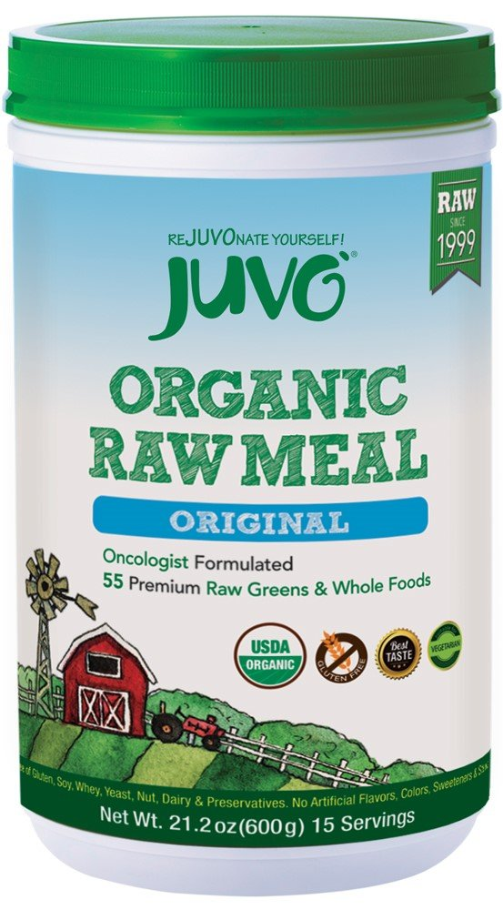 JUVO Organic Raw Meal, Original, 21.2 Ounce