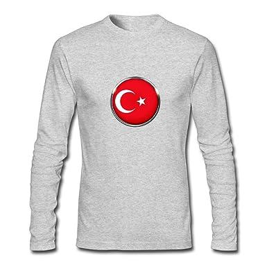 0b0b158b8147 Amazon.com  HFIUH5 Men s Turkey Printing Long Sleeve Cute Crew-Neck ...