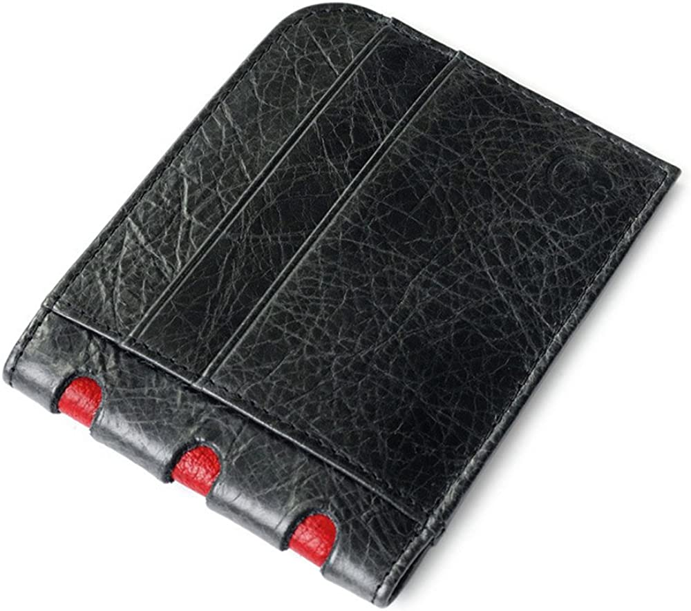 MensBifold Geniue Leather Wallets Card Case
