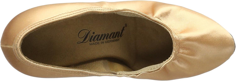 Diamant dames dansschoenen 069-085-094 Standard & Latein goud (gold)