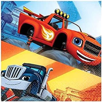 Blaze and the Monster Machines - Servilletas, pack de 20 unidades ...