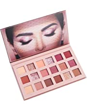 Cooljun 18 couleurs Ombre À Paupières Palette Matte Glitter Pigment Texture Eye Shadow Beauty Maquillage