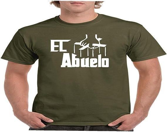 Camisetas divertidas Child Abuelo - para Hombre Camisetas Talla Small Color Verde Oliva: Amazon.es: Ropa y accesorios