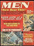 MEN MAGAZINE JULY 1965-SWEDISH LOVE LIFE-PLAYGIRLS-WW 2 FN