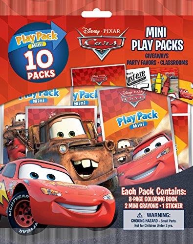 Bendon Cars 10 Mini Play Packs