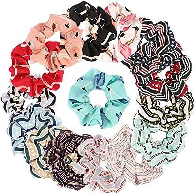Clever Velvet Scrunchie Bobble Girls Ladies Elastic Ponytail Tie Hair Band School Hair Accessories