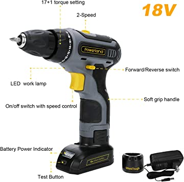 hyperpower D011-ss-18 Power Drills product image 2