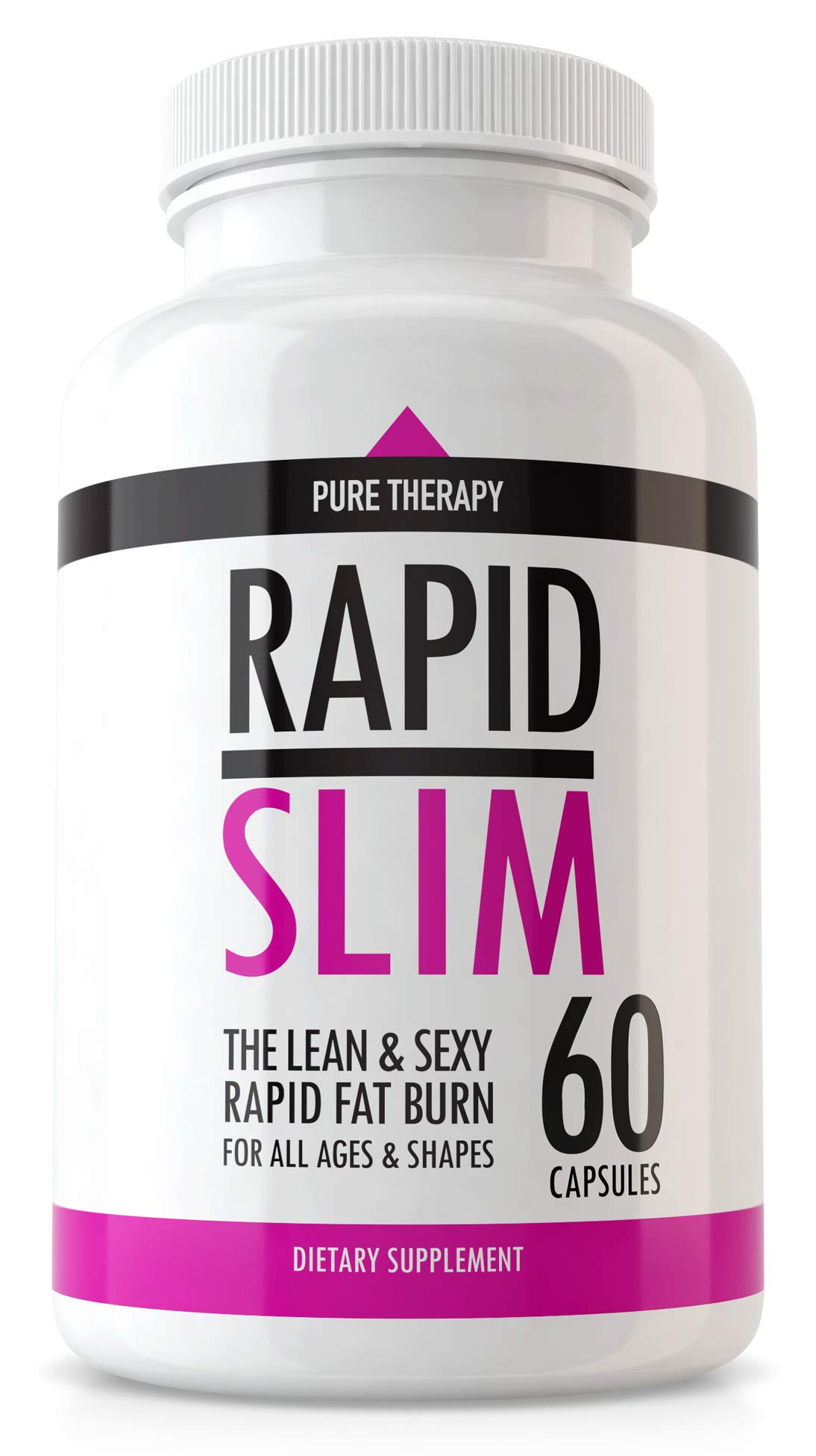 Ultra Keto Pill Rapid Slim Supplement by Pure Therapy Keto - Advanced Weight Loss Supplement to Burn Fat Fast - Keto BHB Pills for Keto Trim Burn For Men and Women - Keto Max Pills for Energy - 60 cap