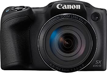 Canon PowerShot SX430B 20MP Digital Camera with 45x Optical Zoom