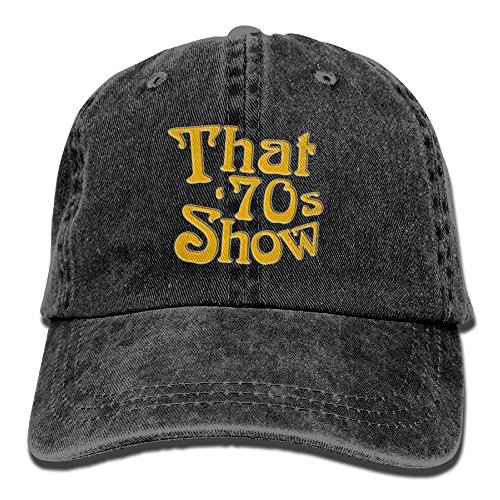 That 70s Girl - XingHHuo That Is 70s Show 2018 Adjustable Washed Cap Cowboy Baseball Hat Black