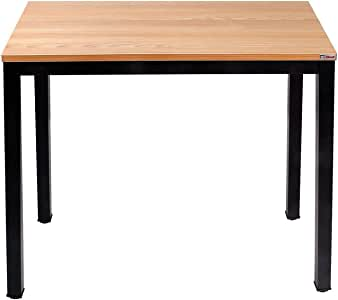 Need Small Computer Desk 80cm Sturdy and Heavy Duty Writing Desk for Small Spaces and Small Desk Study Table Laptop Desk- Damage AC3BB(8040)