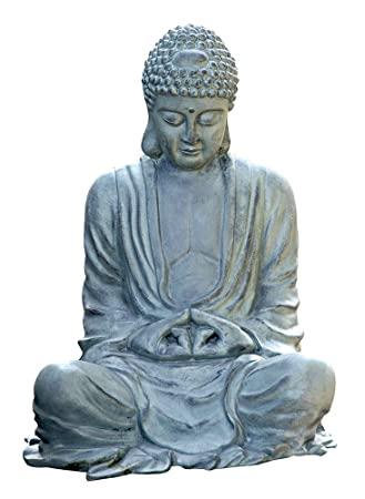 SPI Home 31299 Large Garden Buddha Sculpture