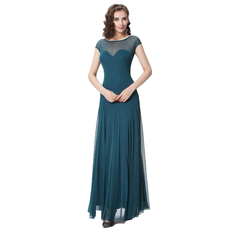 HIRIRI Ladies Elegant Formal Dress Party Cocktail Short Sleeve Plus Size Lace Ruffles Women Pullover