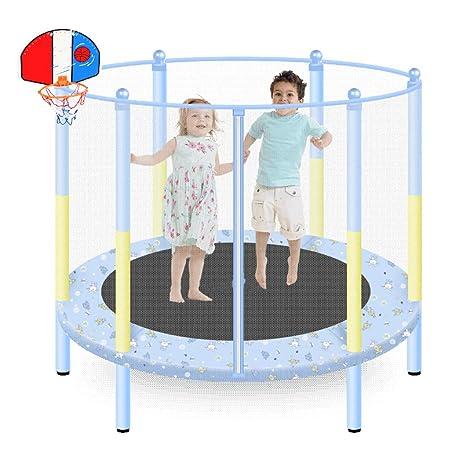 WRRAC-Cama elástica Exterior e Interior Trampolín para niños con ...