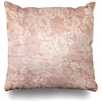 Amazon.com: Funda de almohada con diseño de flores, color ...
