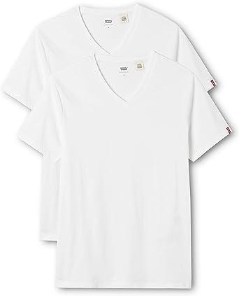 Levis 2 Pack V Neck - Camiseta Para Hombre: Amazon.es: Ropa y accesorios