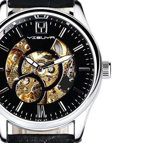 YISUYA Hand wind Automatic Mechanical Wristwatch product image