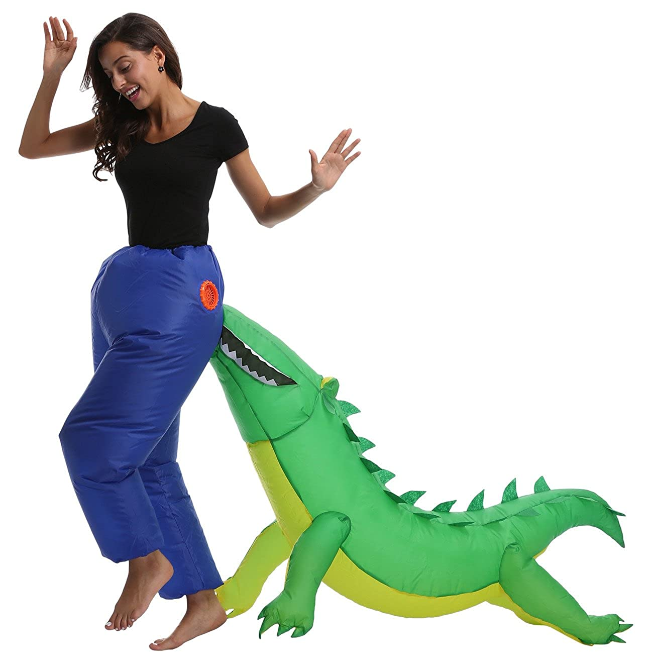 Amazon.com: emilystore hinchable Costume Piggyback disfraz ...