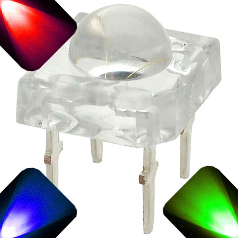 20 x 5mm Super Bright Piranha LED - RGB - Common Anode