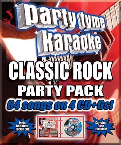 Party Tyme Karaoke - Classic Rock Party Pack [4 CD][64-Song Party Pack] (Tyme Party Karaoke Rock)