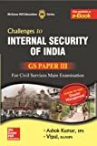 Internal Security and Disaster Management: GS Paper 3 (Old Edition)