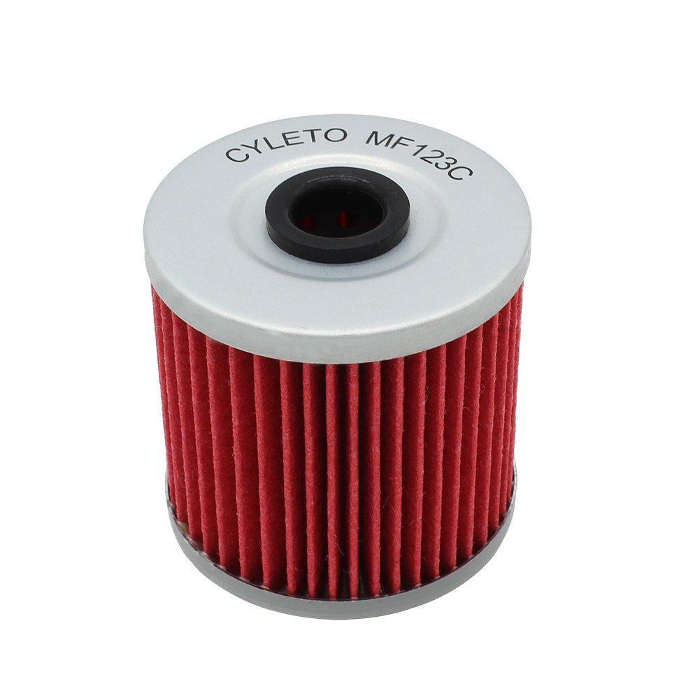 Cyleto filtre /à huile pour Kawasaki Klf220/KLF 220/Bayou 220/1988 2002//Klf250/KLF 250/Bayou 250/2003 2011