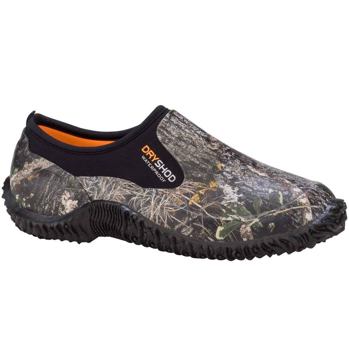 Mens 7 Dryshod Legend Camp Shoe in Camo//Black