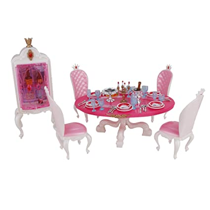 Buy Generic Doll House Miniature Furniture Dining Table with