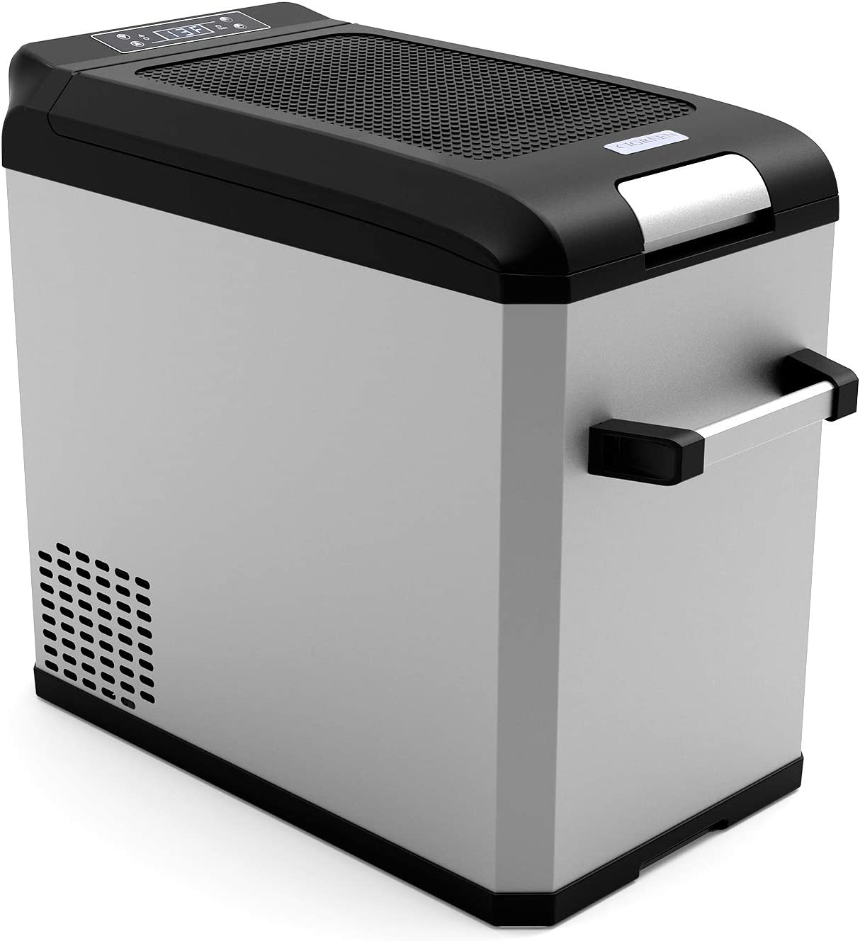 CIGREEN 44 Quart (42 Liter) Portable Refrigerator, Compressor Electric Powered Portable Cooler, Fridge/Freezer for Camping, Travelling, Outdoor and Home Use -12/24V DC and 110-240 AC, DC-42F