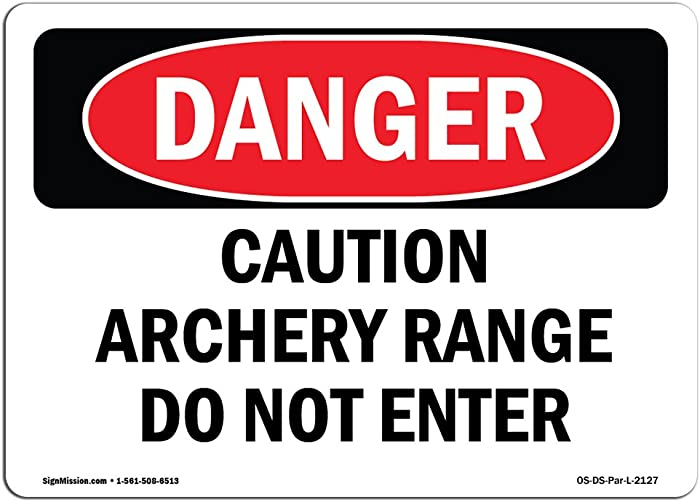 Top 10 Archery Range Do Not Enter