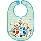 Petit Jour Paris - Green Bib Peter Rabbit - gemakkelijk schoon te maken!