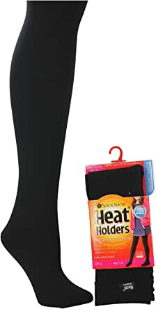 Heat Holders Kids Heat Holders Girls Tights Thermal Winter Warm Brushed Inner