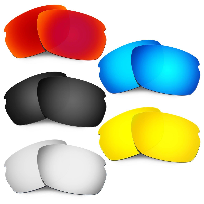 Hkuco 強化する交換用レンズ Oakley Carbon Shift 赤/ブルー/ブラック/24 Kゴールド/チタン サングラス   B07RTJJJ38