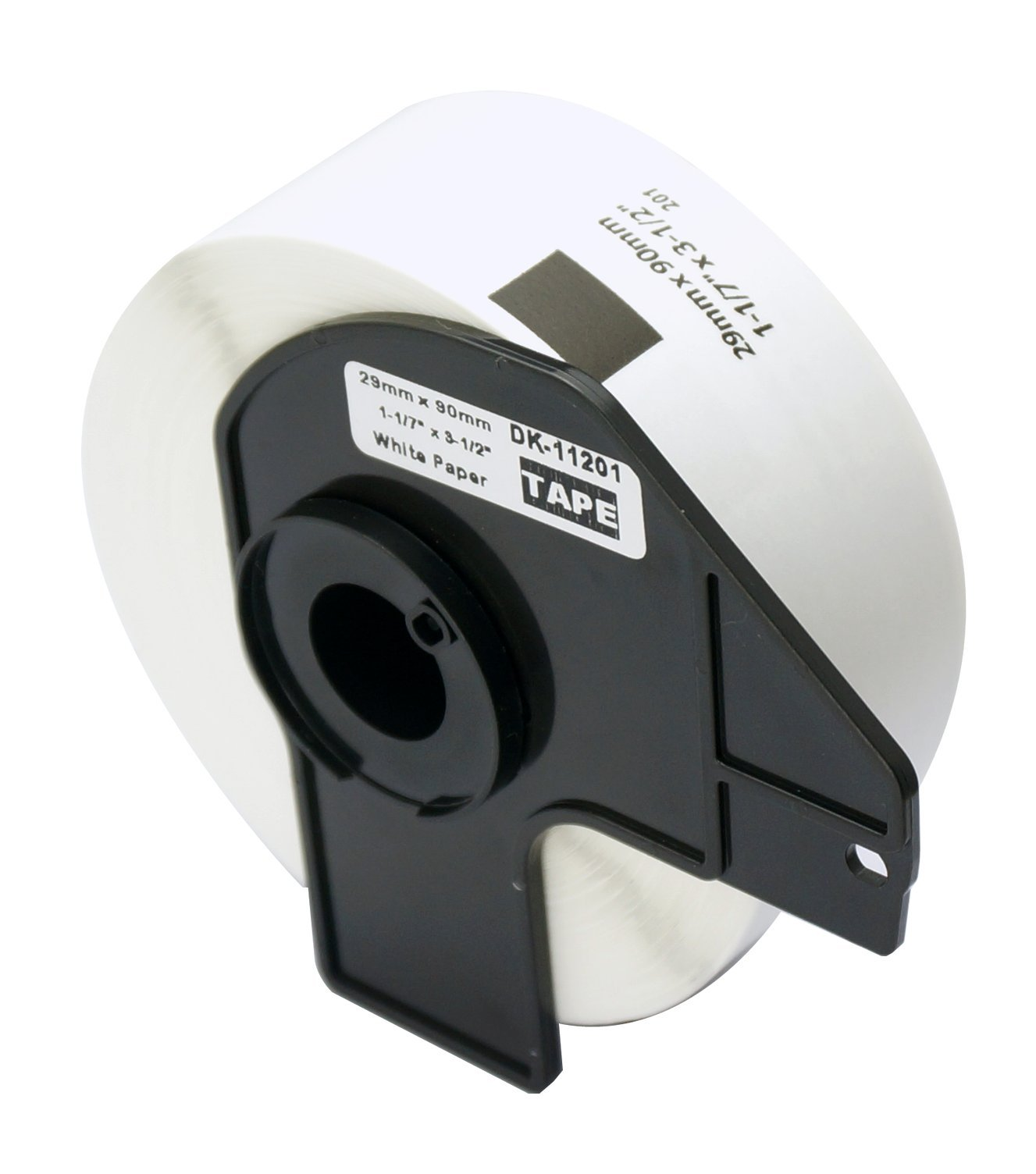 6 Rolls Brother-Compatible DK-1201 P-Touch 29mm x 90mm(1-1/7'' x 3-1/2'') 2400 Standard Address Labels With Cartridge by BETCKEY (Image #2)