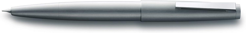 pennino M//F Lamy 1224126 Penna stilografica argento modello 2000 002