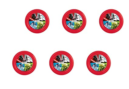 ALMACENESADAN Disney, Star Wars, 0323, Pack de 6 Platos de ...