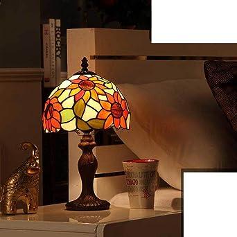 Retro Vaso Lámparas de mesa,Dormitorio Lámpara mesita de noche ...