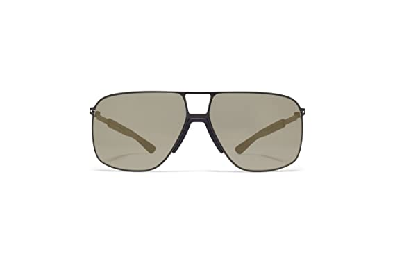 Amazon.com: anteojos de sol Mykita roble mh1 243 Pitch Black ...