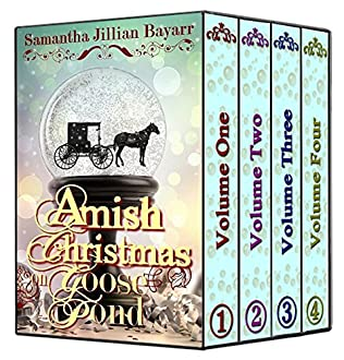 book cover of Amish Christmas on Goose Pond