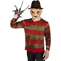 Funidelia   Jersey de Freddy Krueger - Pesadilla en ELM Street Oficial para Hombre Talla M ▶ Freddy, Películas de Miedo…