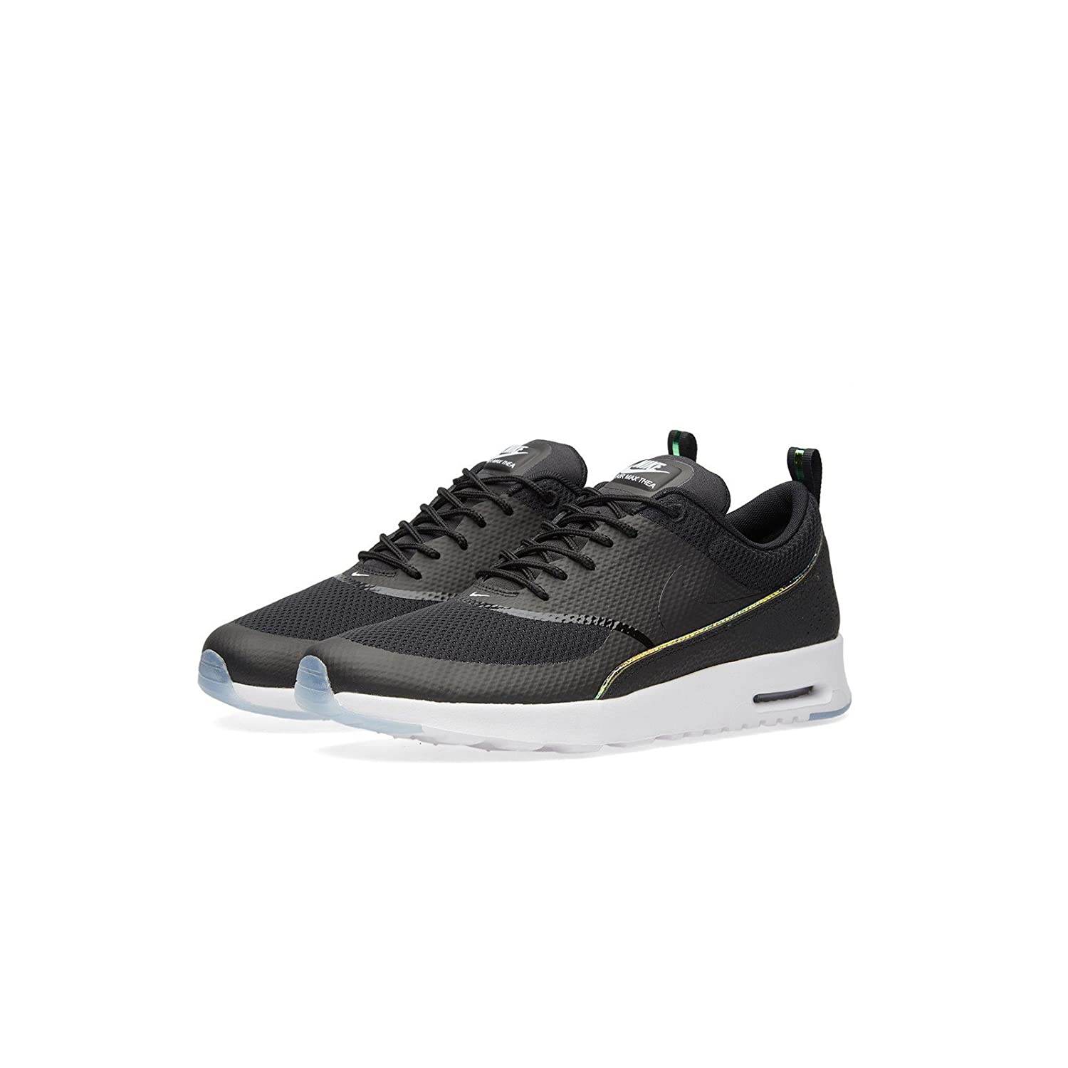 Nike – Wmns Air Max Thea Prm Womens Shoes BlackBlack Blue Tint