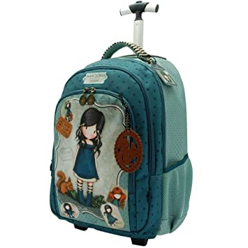 "Mochila Trolley Gorjuss""You brougth ..."
